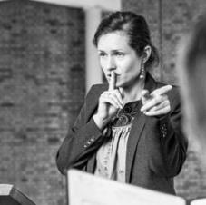 Dorota Kurowska - dyrygentka tyskiego chóru